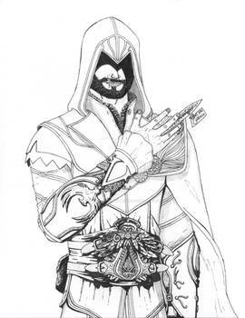 Ezio Auditore Da Firenze -- Master Assassino