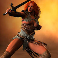 Red Sonja by poopopopero