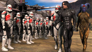 Reviewing the clone troopers