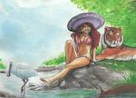 Sombrero girl