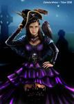 Dark steampunk piraten girl