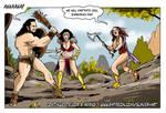 Amazon vs barbarian
