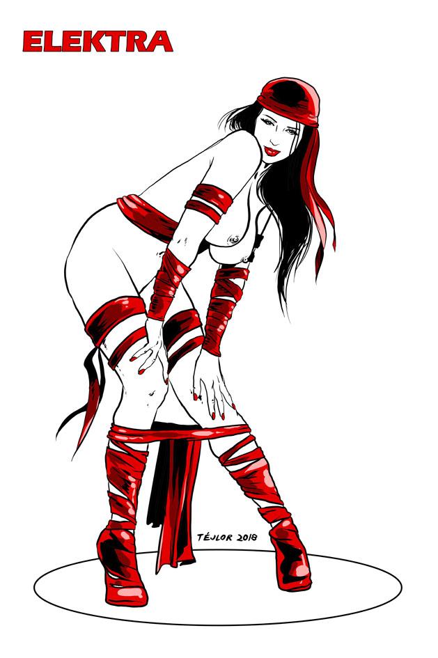 Sexy Elektra by tejlor