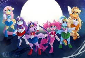 Fighting Evil by Moonlight by Mochaspar