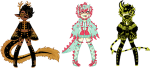 (0/3) monster adopts CLOSED