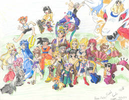 All Anime Party by ruriko