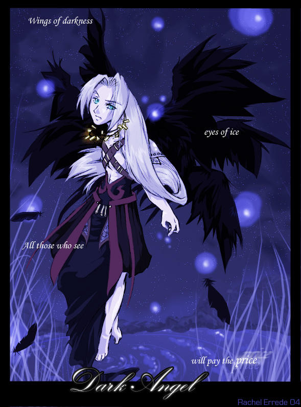 The Dark Angel Flies Tonight by ruriko