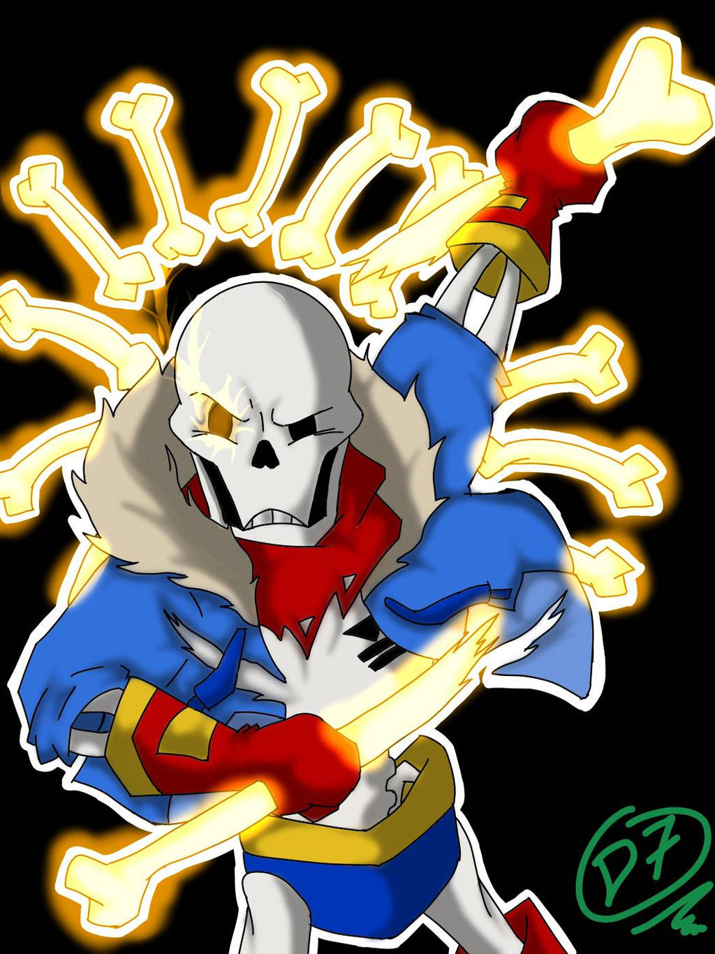 DISBELIEF PAPYRUS PHASE 2 by TheGreatD7 on DeviantArt