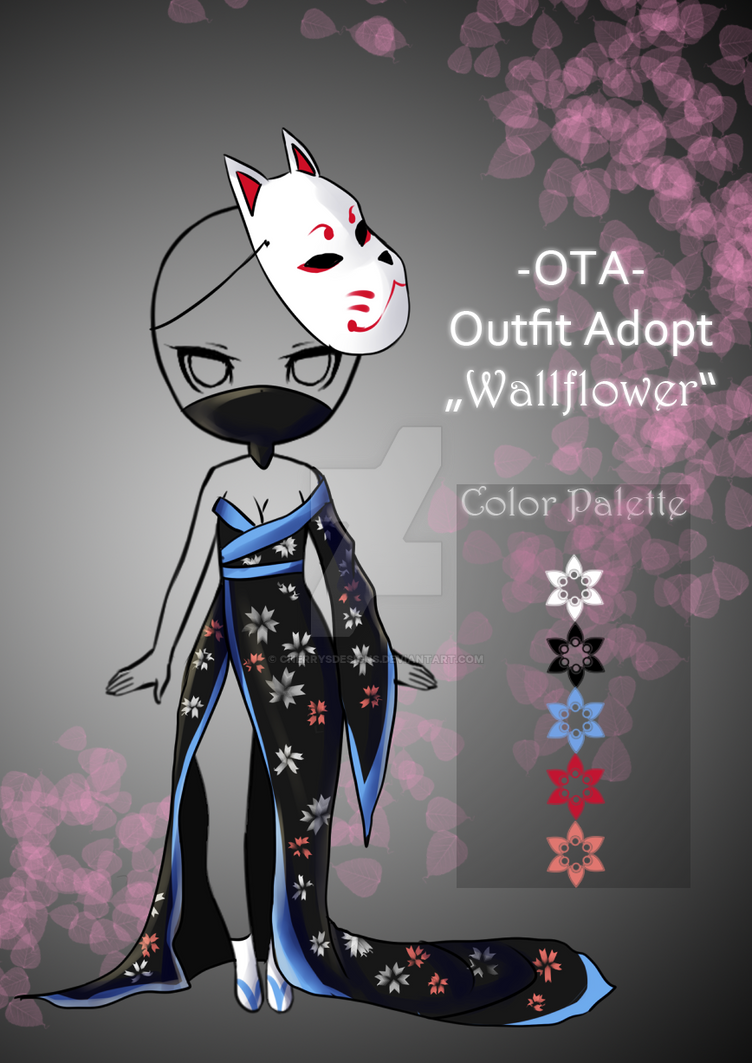 closed offer to adopt wallflower kimono by