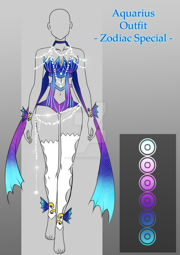 Outfit Adopt Aquarius Closed By Cherrysdesigns On Deviantart