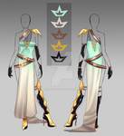 (closed)Auction Adopt - Libra Outfit