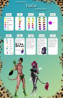 Closed Species: Valix Species Sheet