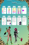 Closed Species: Valix Species Sheet by CherrysDesigns