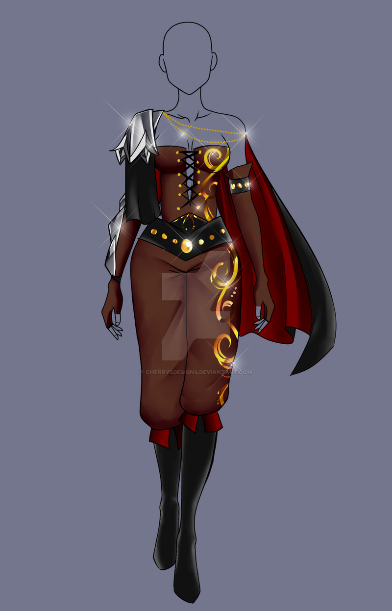(closed) Auction Adopt - Hunter Outfit 2 by CherrysDesigns on DeviantArt