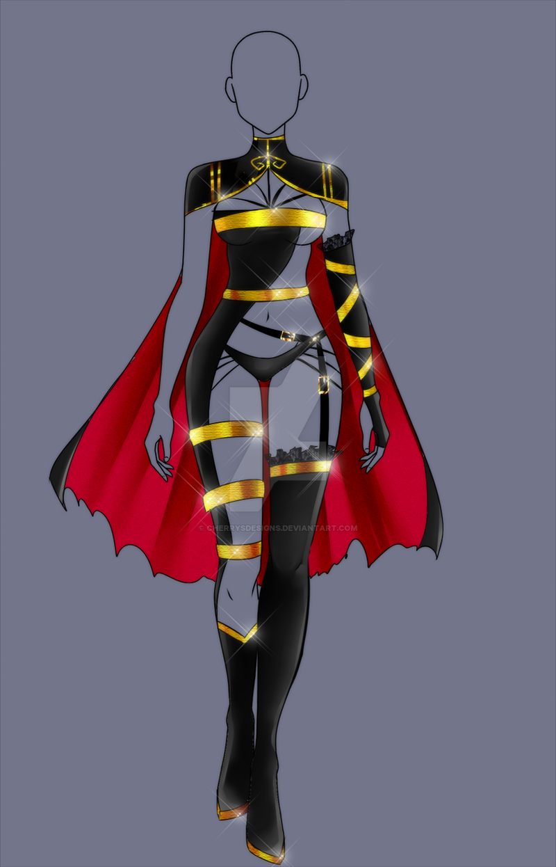 (closed) Auction Adopt - The Lust Outfit by CherrysDesigns on DeviantArt