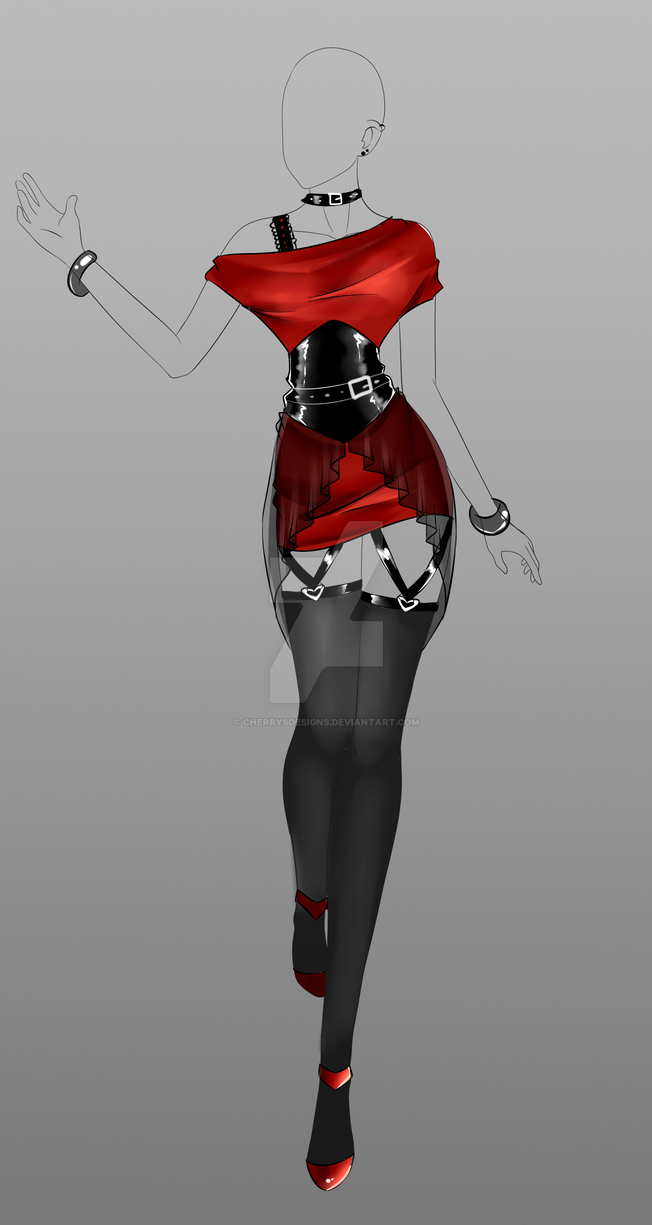 (closed) Auction Adopt - Outfit 234 by CherrysDesigns on DeviantArt