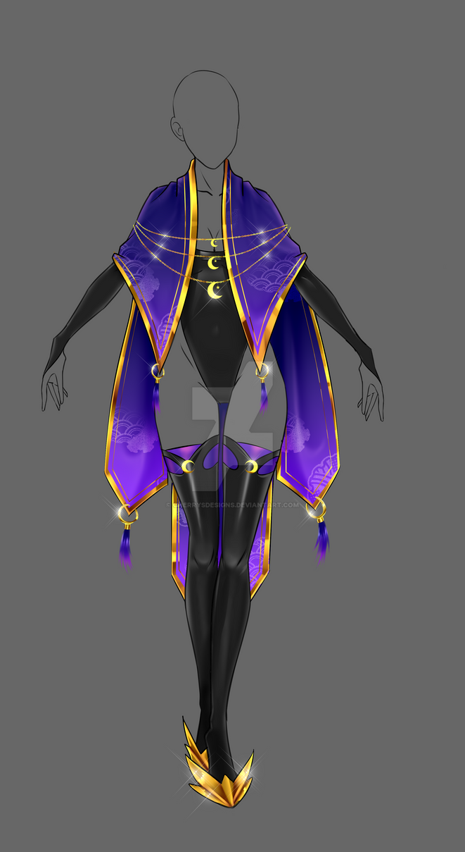 (closed) Auction Adopt - Divine Mage Outfit by CherrysDesigns on DeviantArt