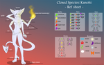 OPEN species: Kanohi ref sheet by CherrysDesigns
