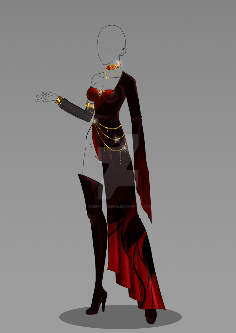(closed) Auction Adopt - Outfit 328 by CherrysDesigns on ...