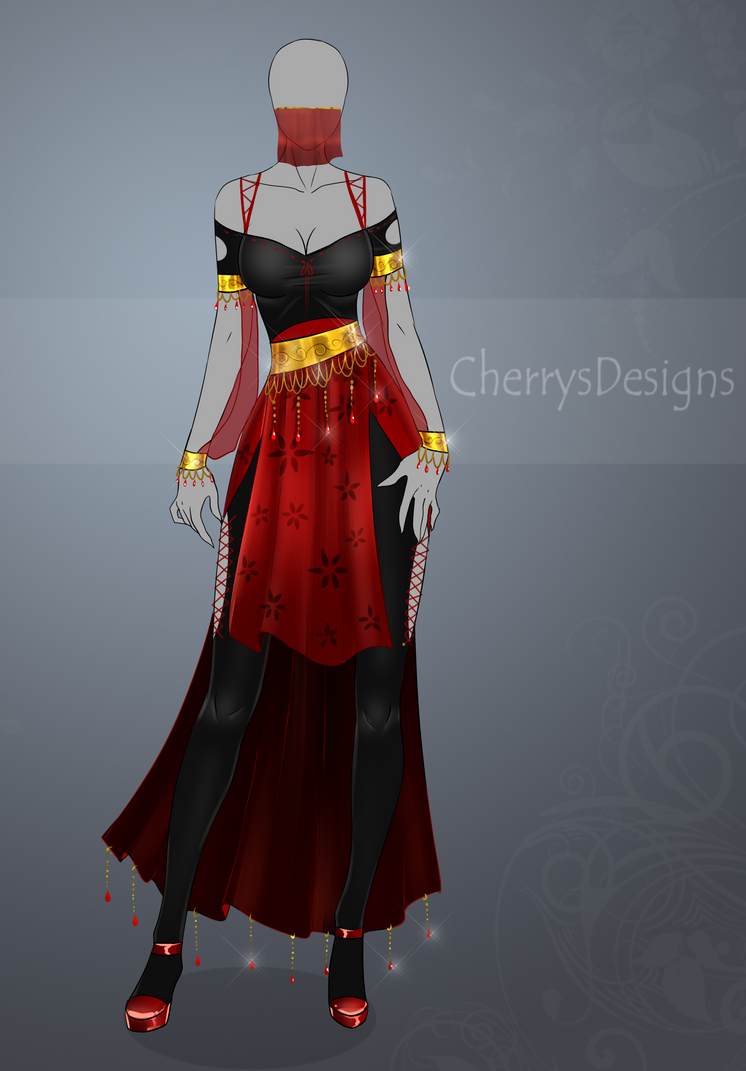 closed auction adopt outfit 446 by cherrysdesigns on