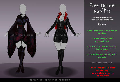 FREE TO USE OUTFIT SET #4