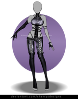 (closed) - 24H AUCTION - OUTFIT ADOPT 836 by CherrysDesigns