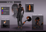 Full Valix Ref sheet Sample (adult + baby form) by CherrysDesigns
