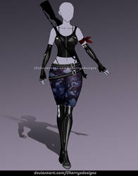 CLOSED (24H AUCTION) - Outfit Adopt 942 by CherrysDesigns