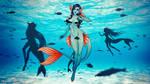 Aqua Valix Environment by CherrysDesigns