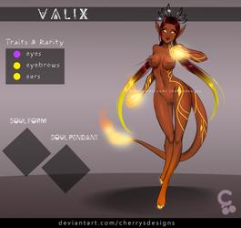 [closed] 24H AUCTION - VALIX 168 (FIRE)