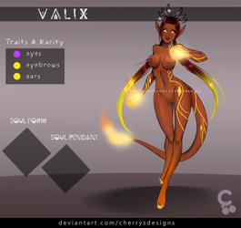 [closed] 24H AUCTION - VALIX 168 (FIRE)