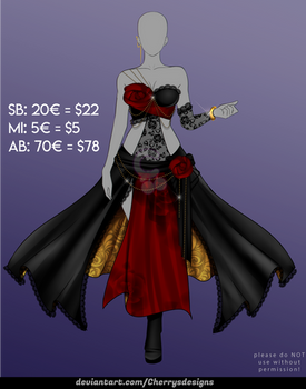 [CLOSED] 24H AUCTION - Outfit Adopt 1104