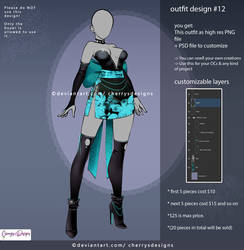 customizable Outfit design #12