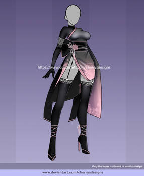 (OPEN) 24H Auction: Outfit adopt 1566