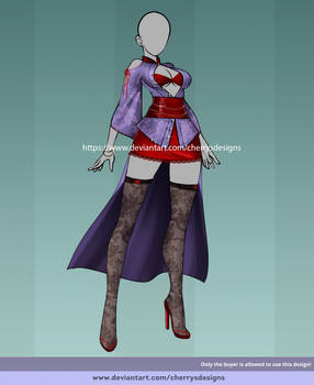 (OPEN) 24H Auction: Outfit adopt 1567