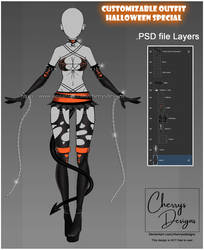 customizable Outfit design #45