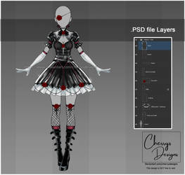 customizable Outfit design #48