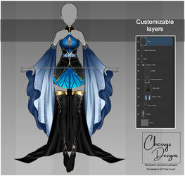 customizable Outfit design #49