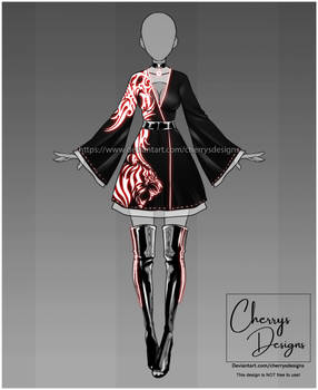 (CLOSED) 24H Auction: Outfit adopt 1593