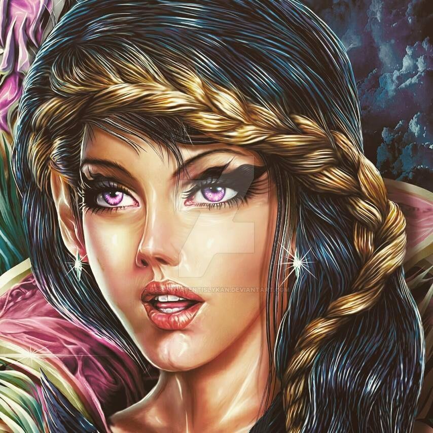 The Lady by DSBEniX-AfentisLykan