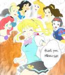 kilala princess manga color