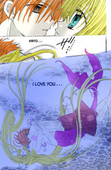 mermaid melody kiss water