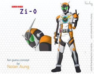 Kamen Rider Zi-O fan guess by Nollan-Aung
