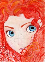 Merida from Disney's BRAVE by julesrizz