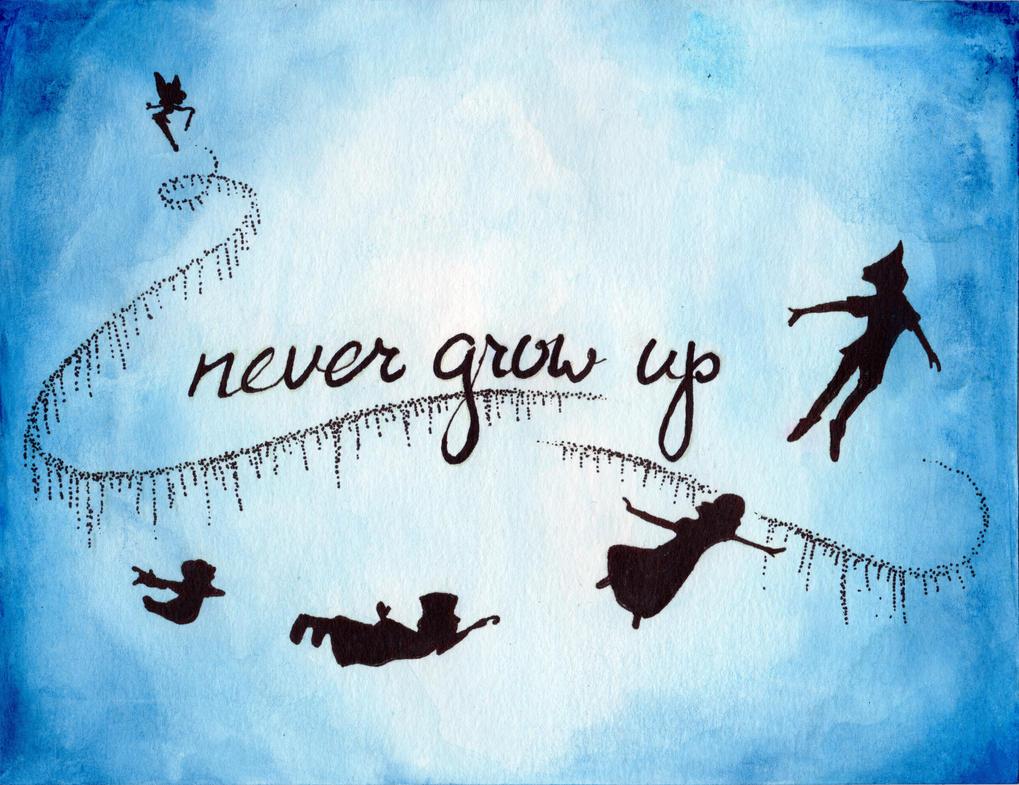 Peter Pan Never Grow Up By Julesrizz