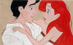 Ariel and Eric Mini (Colored Pencil)