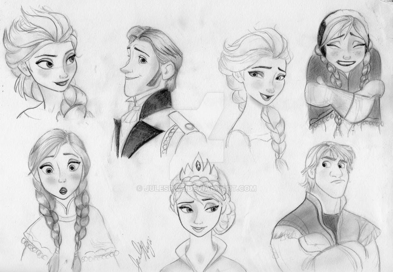 Frozen Concept Art 2 by julesrizz on DeviantArt