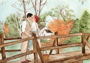 Anne and Gilbert (Watercolor Painting)