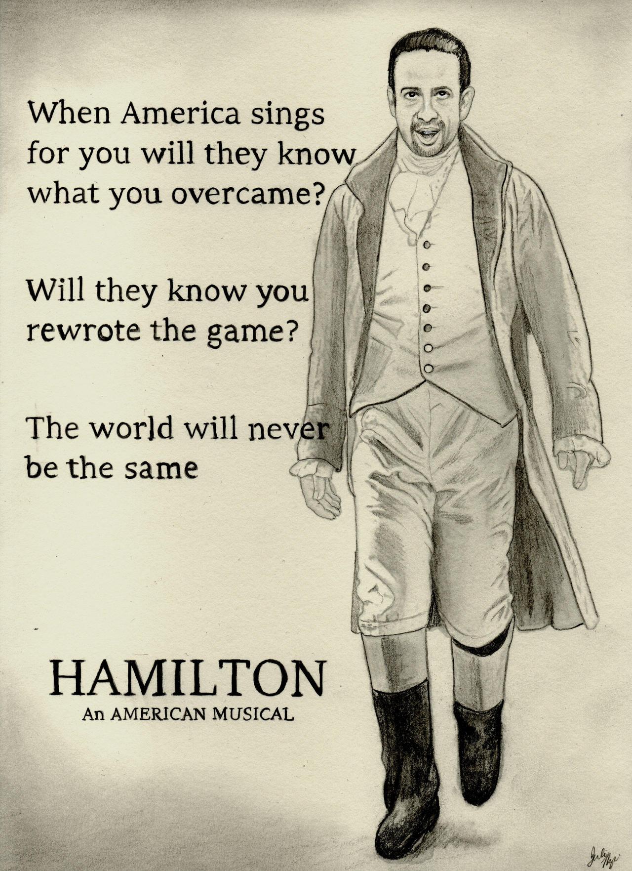 Alexander Hamilton (Graphite Drawing)
