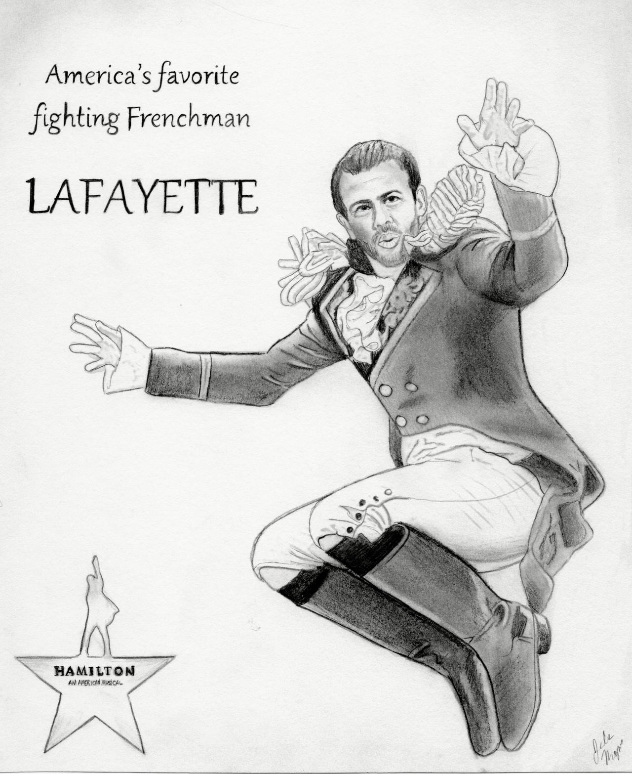 Image result for lafayette in hamilton